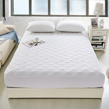 Waterproof, Hypoallergenic 100% Cotton Quilted Mattress Cover-for Hotel