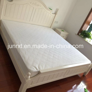 Tencle Air Layer Waterproof Bed Bug Mattress Cover Manufacturer Customized Zipper Crib Mattress Protector