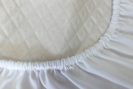 Hotel Bed Linen Waterproof Mattress Protector Pillow Quilted Fitted Mattress Pad