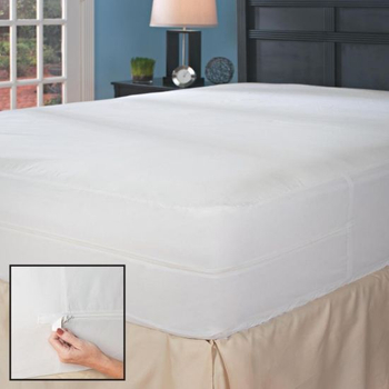 Cooling Temperature Control Tech Queen Size Deep Pocket Waterproof Mattress Protector Fits 14-18 Inch