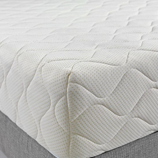 "King Size Quilted Mattress Pad and Protector Fitted up to 18"" Deep-Extra Comfort"