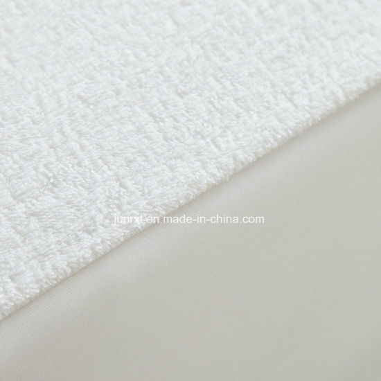 Hotel Waterproof 80% Cotton 20% Polyester Terry Cloth Laminated TPU Mattress Protector
