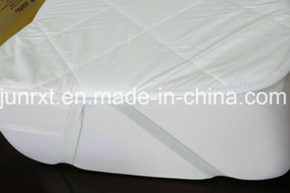 Hotel Use Quilted Cotton Fabric Filling and Pongee Fabric Waterproof Mattress Cover Protector