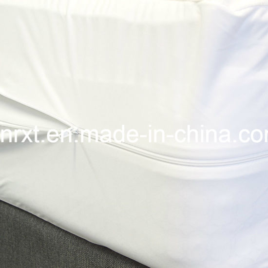Queen Size 95GSM 100% Polyester knitted Fabric Waterproof Mattress Protector