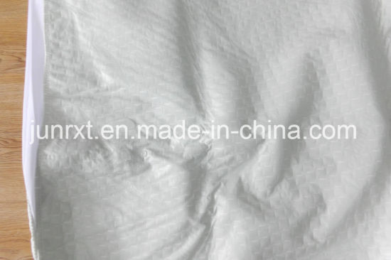 100% Bamboo Fabric and 100% Polyester Filler with TPU and Polyester Knitted Skirt Quilted Knitted Waterproof Mattress Protector