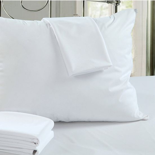 90GSM Knitted Fabric Laminated TPU Pillow Protector with Waterproof Zippered