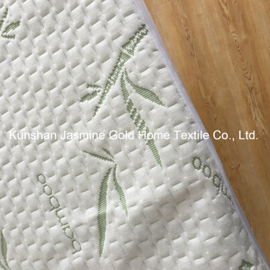 Anti Dust Mites Bamboo Jacquard Fabric with TPU Waterproof Mattress Protector