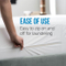 Polyester Jacquard Allergen Free Mattress Protector