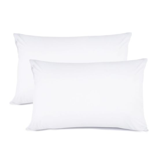 Queen Size 100% Brushed Microfiber Pillow Covers-2 Pack