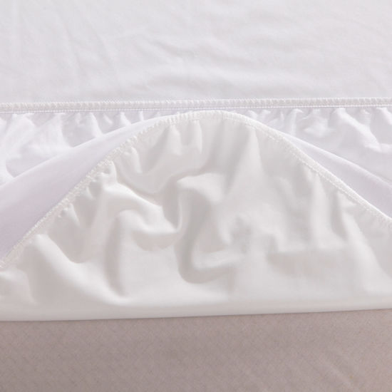 Queen Size Knitted Fabric Laminated TPU Waterproof Mattress Protector