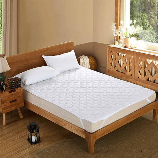 Dust Mite Proof Quilt Fiberfill Mattress Protector