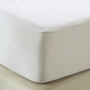Soft Terry Cotton Topper Mattress Pad Cover-King Size