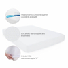 Saferest Hot Selling Hypoallergenic Waterproof Queen Size Vinyl Free Mattress Protector