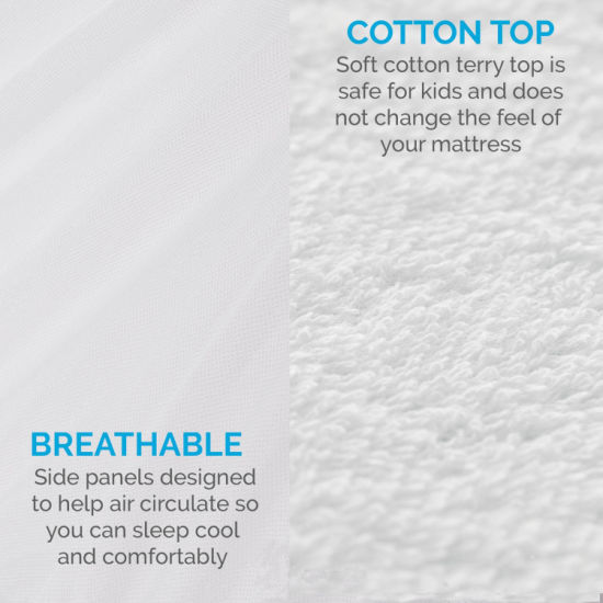 100% Waterproof Breathable Mattress Protector
