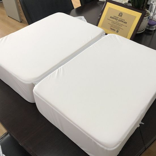 Poly Fabric Laminated with TPU Conjoined Waterproof Mattress Cover