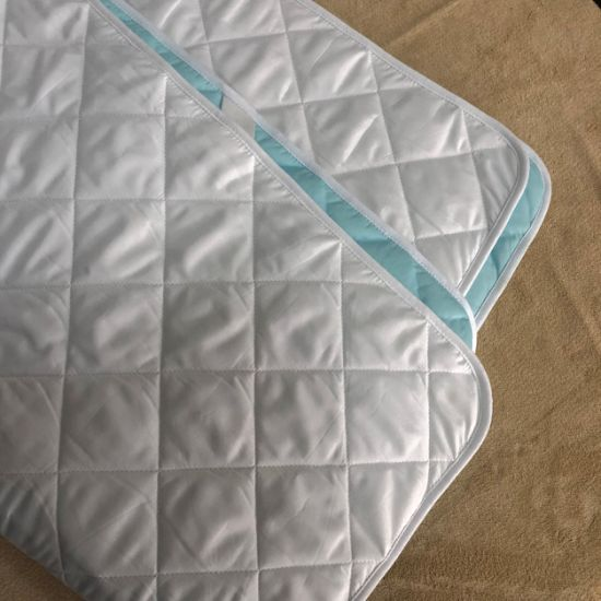 Amazon Hot Seller Quilted Microfiber Waterproof Mattress Pad for Hotel