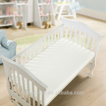 Ultra-Soft Bamboo Rayon Waterproof Crib Mattress Pad Protector