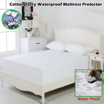 Waterproof Anti Bacterial Cozy Mattress Protector Which Is Made in China
