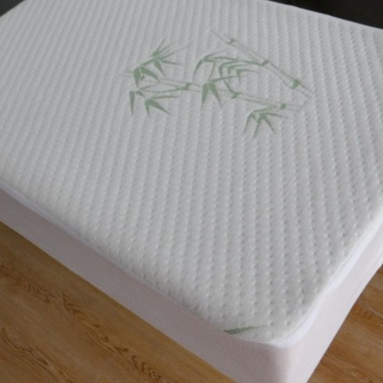 Waterproof Dust Mite Proof, Bed Bug Proof Breathable Mattress Protector Home Textile