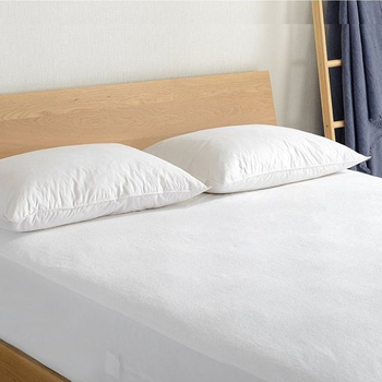 Premium Hypoallergenic 100% Cotton Terry Fitted Mattress Cover