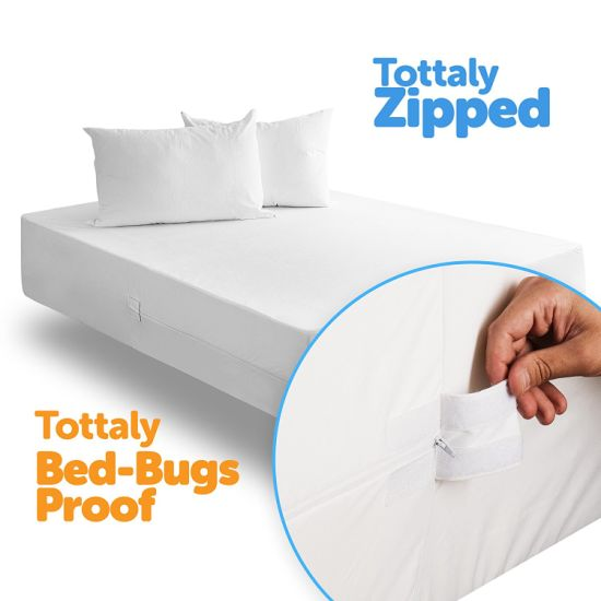 Queen Size Deep Pocket Waterproof Mattress Protector Fits 14-18 Inch