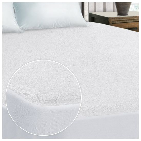 Queen Size Premium 100% Cotton Terry Surface Waterproof Mattress Protector
