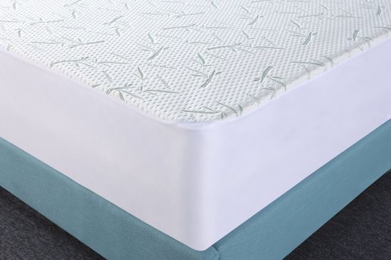 Premium Breathable Bamboo Waterproof Mattress Protector