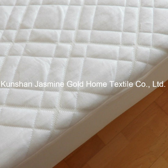 300GSM Bamboo Jacquard Fabric with TPU Waterproof Mattress Pad