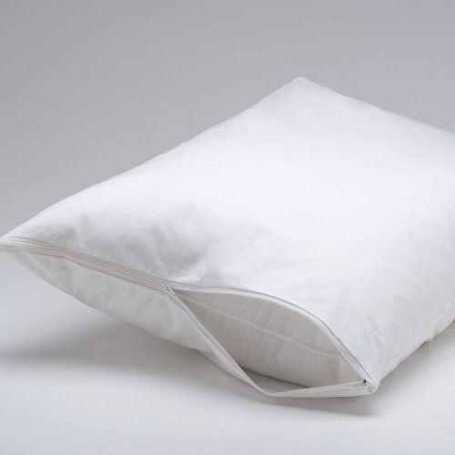 Anti Dust Mite Wholesale 20X30 Waterproof White Pillow Cover