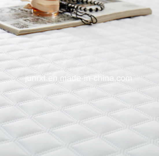 Hot Melted Glue Economical Bed Bug Proof Home Hospital Use Quilted Cotton Fabric Filling Waterproof Mattress Cover Protector