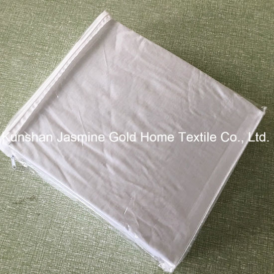 105GSM Bleaching Tencel Fabric Laminated TPU Waterproof Mattress Protector