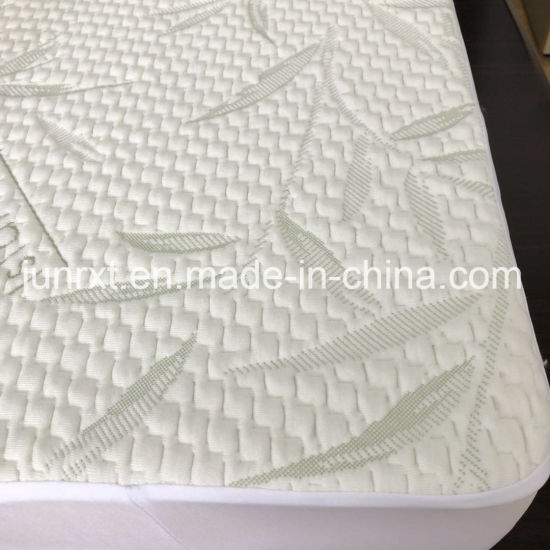 Ultra Soft Waterproof Crib Mattress Cover Pad Viscose From Bamboo Fiber Waterproof Baby Crib Mattress Protector